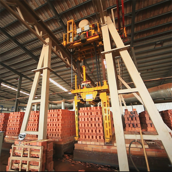 Unloading and bundling system