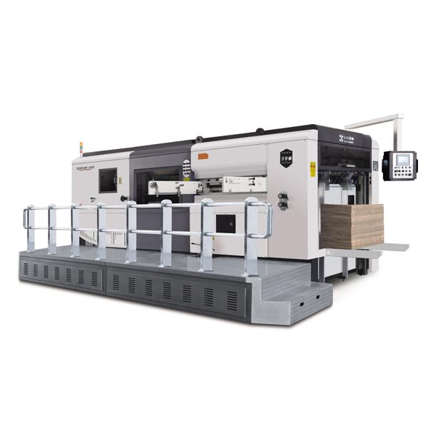 Semi-automatic die cutting machine