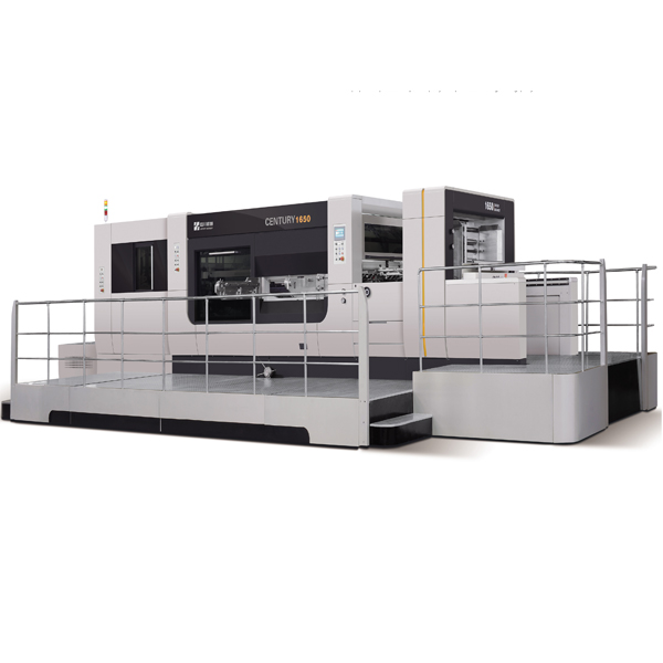 Automatic cleaning and die cutting machine