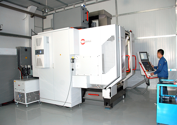 HERMLE five-axis machining center imported from Germany